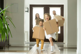 moving with kids